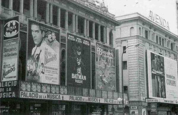 cine avenida, cine palacio de la música