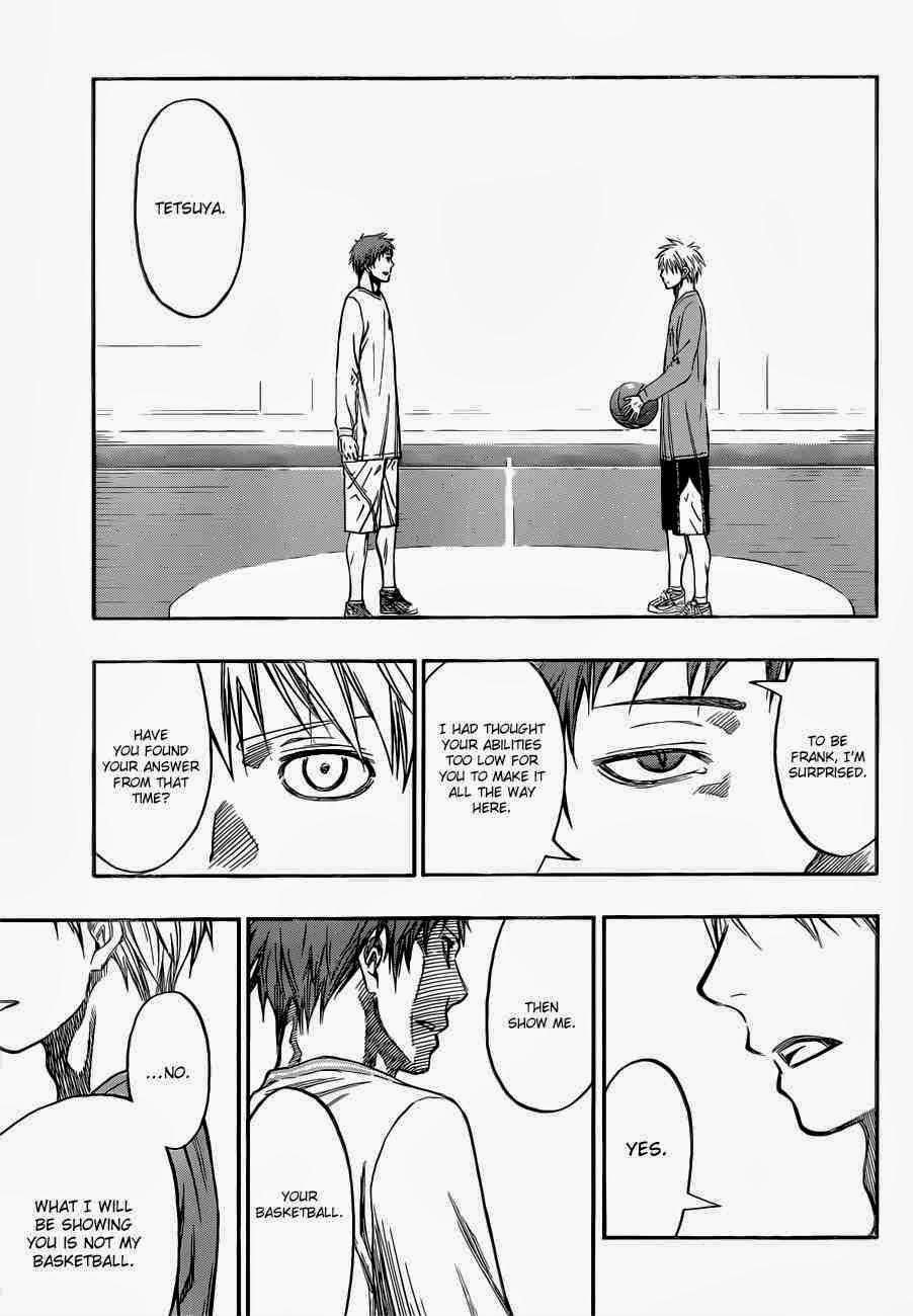 Kuroko no Basket Manga Chapter 230 - Image 21