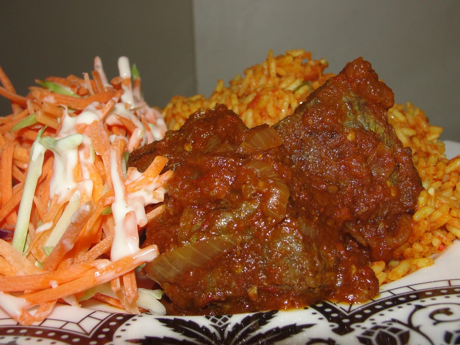 how to make african jollof rice