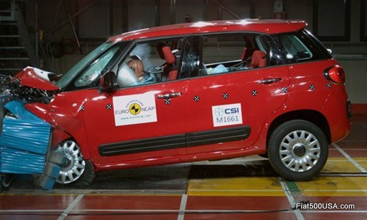 Fiat 500L Euro NCAP