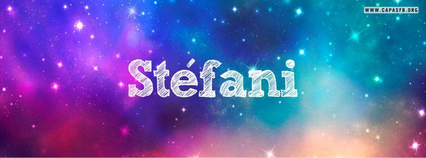 Capas para Facebook Stéfani