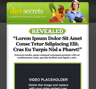Sales Page | Diet Secrets