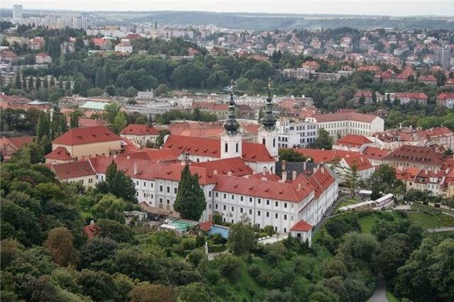Прага. Страгов монастырь