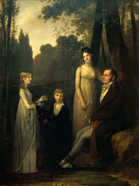 Proudhon Pierre Paul - Rutger Jan Schimmelpenninck with Wife and Children
