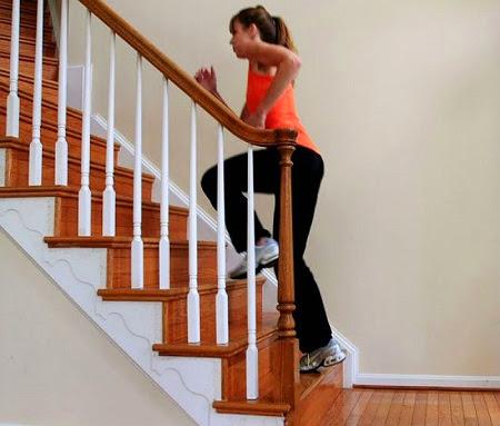 Subir y bajar escaleras ayuda a adelgazar