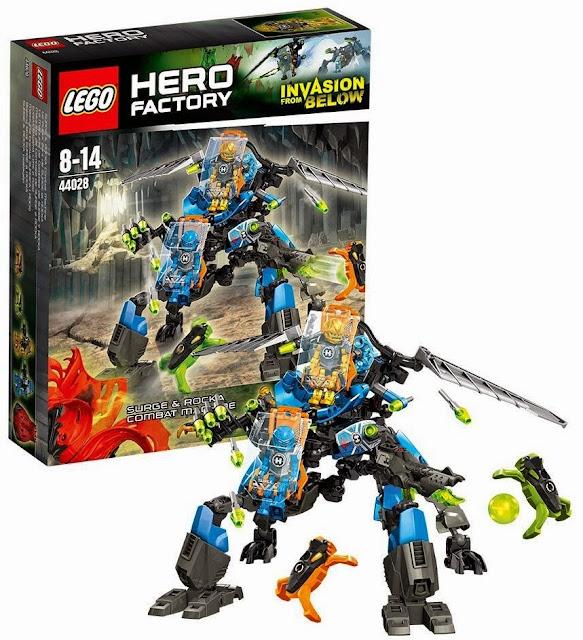 Hộp sản phẩm Lego 44028 Cỗ máy chiến đấu Combat Machine