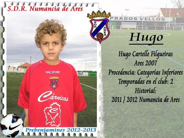 ADR Numancia de Ares. Hugo.