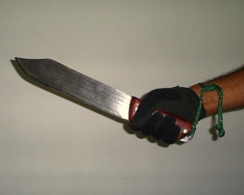 "Simple modificacion de machete panja africano 18"" S5037348"