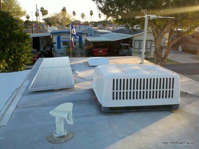 RV Net Open Roads Forum: Added solar and a water hammer arrestor