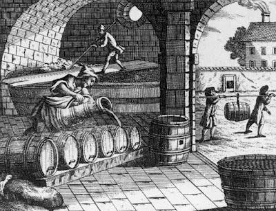 Een brouwerij uit de 17e eeuw