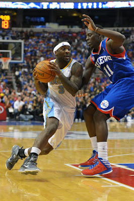 wearing brons nba lebron9 coolgrey 23 lawson Wearing Brons: LeBron X, 9 and Soldier 6 Sightings all over NBA