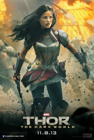 Jaimie Alexander as Sif in Marvel's Thor The Dark World #ThorDarkWorldEvent