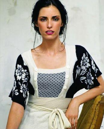 fdf6778ae71 where the WiLd fLoWeRs grow ~  ~ Intarsia Kimono sweater by liaMolly ~