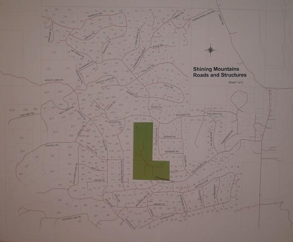 Ennis MT Real Estate, Shining Mountains Plat map