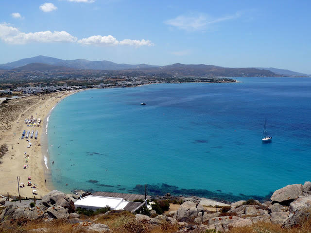 Naxos, spiaggia di Agios Prokopios