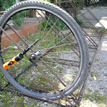 Kradzież roweru z wyrwikółki