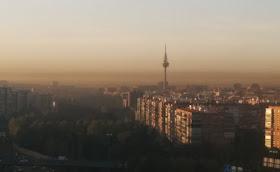 Aviso por alta contaminación en dióxido de nitrógeno (NO2) - martes 21 de octubre