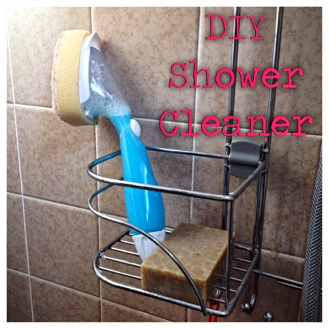 homemade shower cleaner- diy