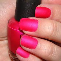 Esmalte fosco rosa