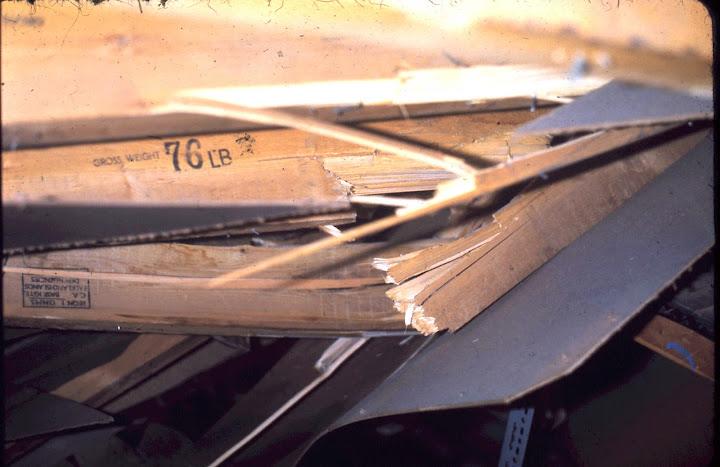 Broken rafters