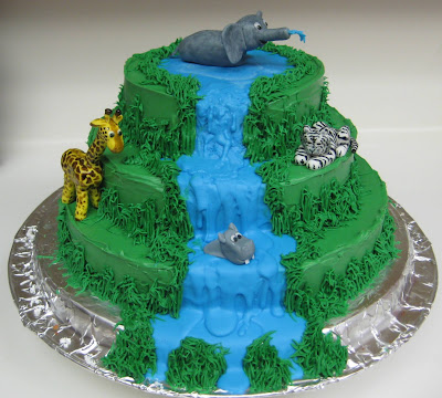 Jungle Animal Cake 2