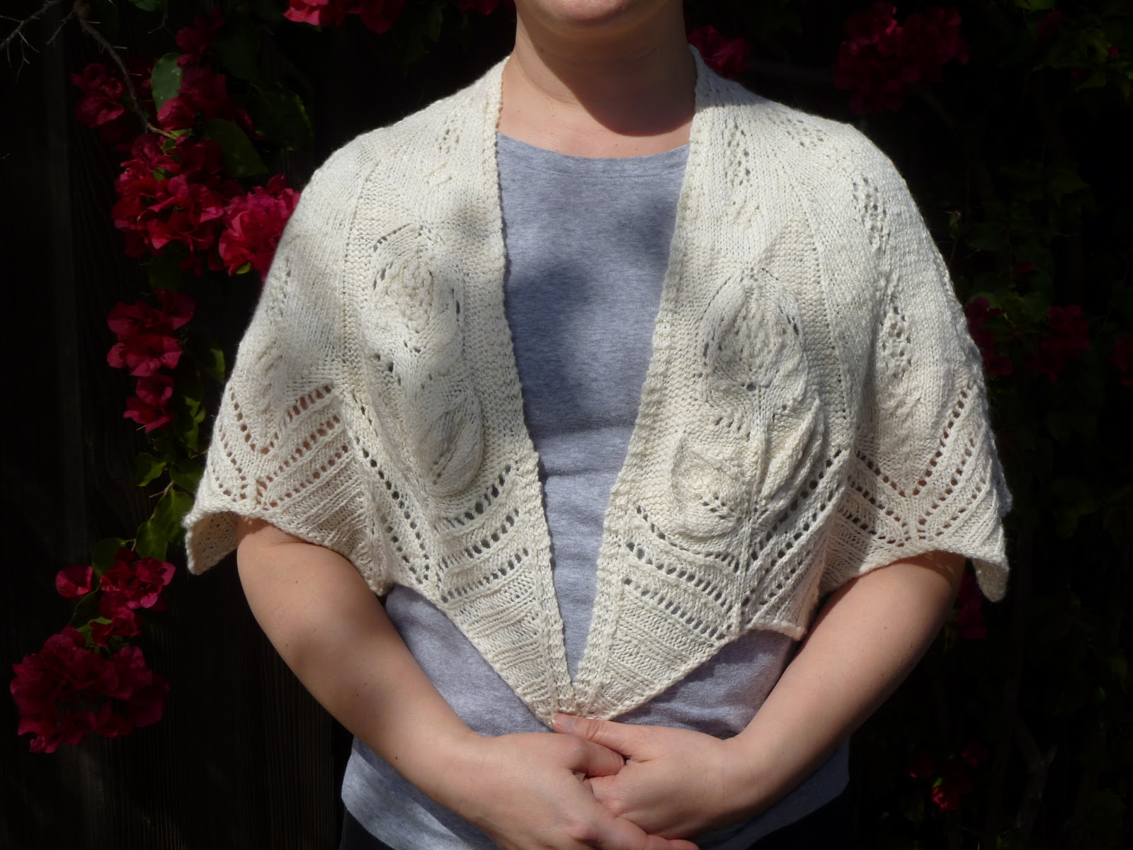 Sdmags Blooming Mystery Kal Blooming Garden Shawl