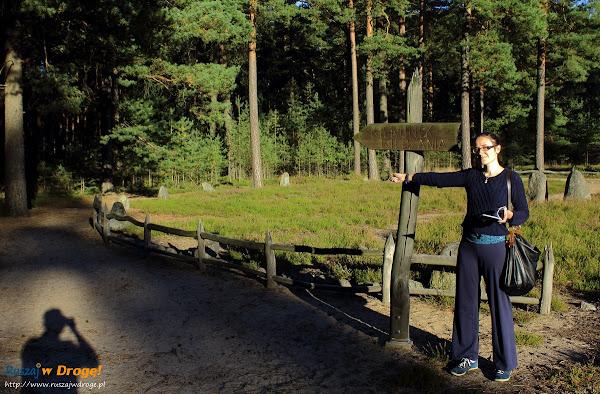 Rezerwat Kamienne Kręgi Odry - kierunek zwiedzania