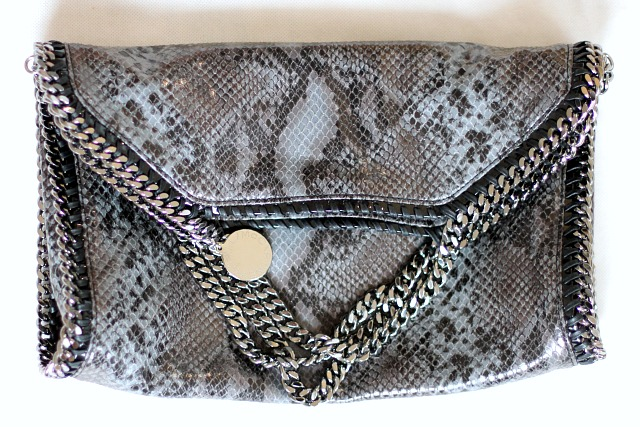 Stella McCartney Falabella python bag
