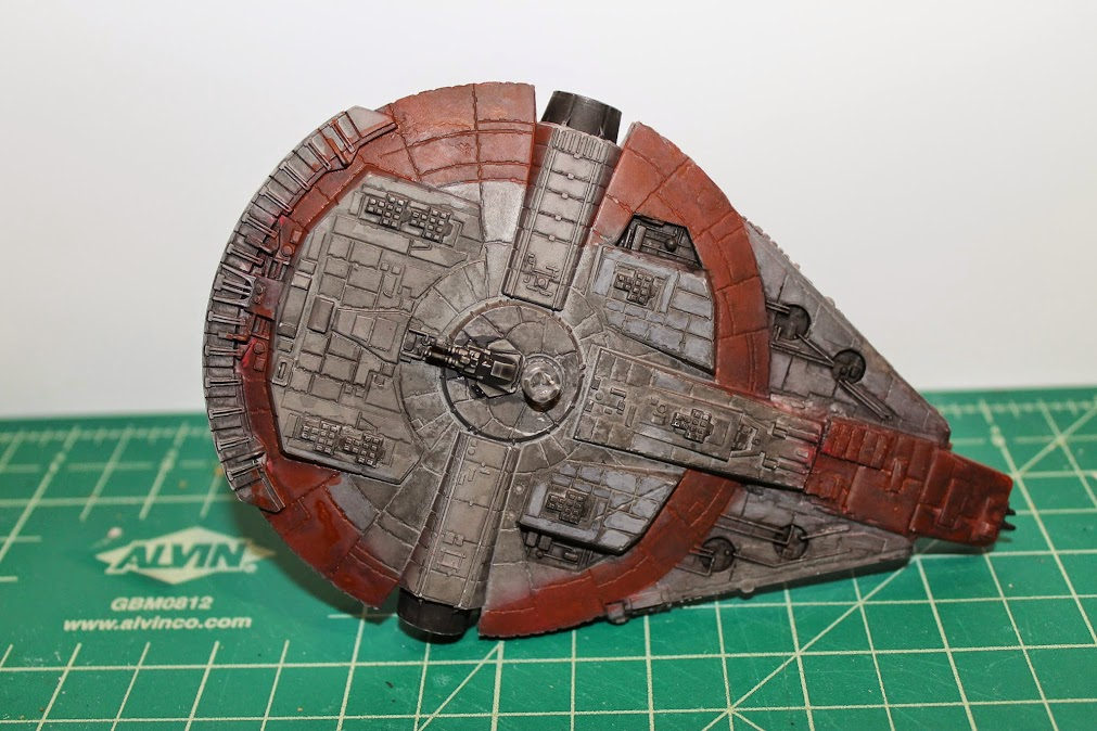 Finished YT-1300, Bottom
