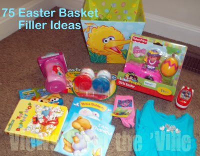 Easter Basket Filler Ideas - Ages 3 & Under