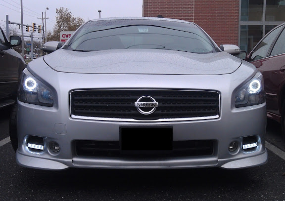 show me your grills on silver cars - Maxima Forums