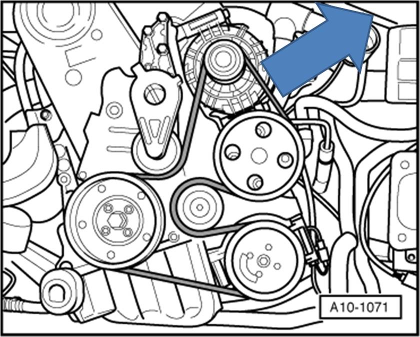2001 Audi 1 8t Engine Belt Diagram