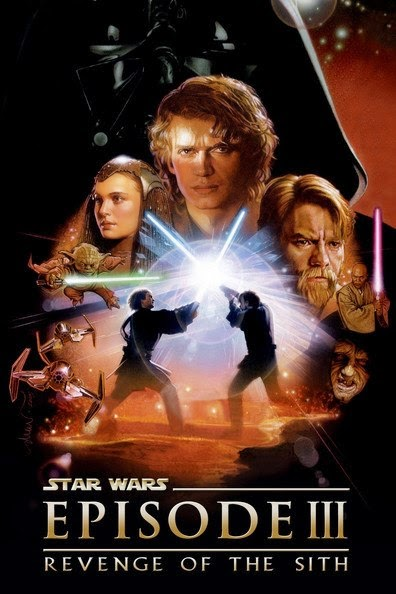 Poster Of Star Wars: Episode III - Revenge of the Sith (2005) Full Movie Hindi Dubbed Free Download Watch Online At alldownloads4u.com