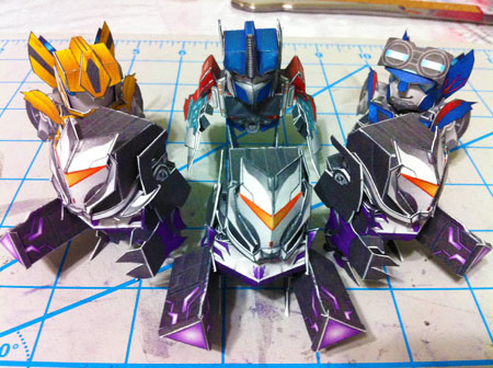 Vehicon Paper Toy