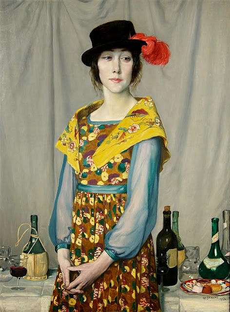 William Strang - The Buffet