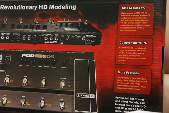Line 6 POD HD500 Multi-Effects Pedal