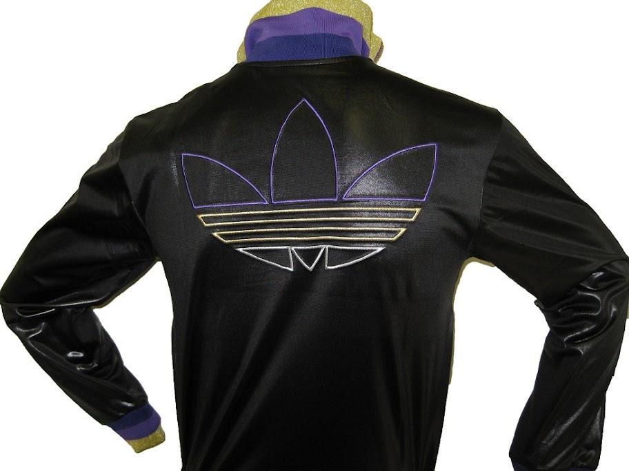 Adidas Originals CHILE 62 RIB TT GLANZ SCHWARZ Bitte Grösse