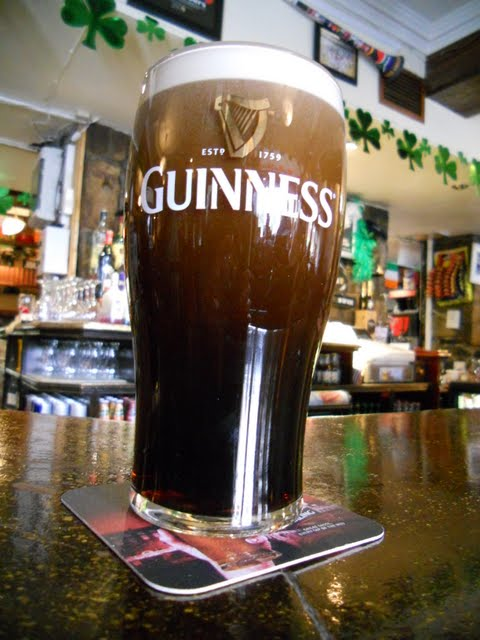 Celebrating St. Patrick's Day in Dublin Ireland - Pint of Guinness