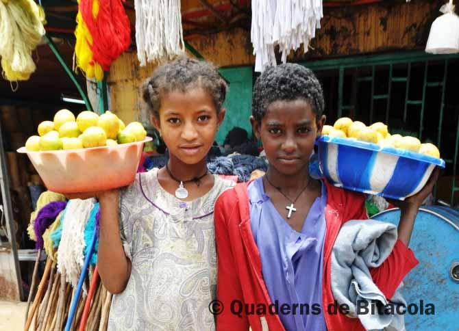 niñas etíopes