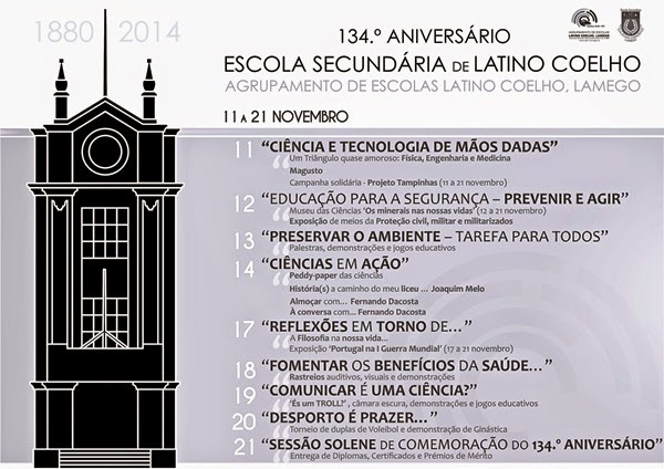 Aniversário da Escola Secundária Latino Coelho