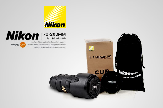 Nikon 70-200mm Lens Style Drink Thermos 4