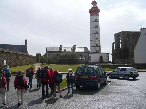 Le phare et l'ancienne abbaye de la pointe de Saint-Matthieu