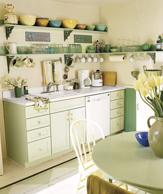 fauna decorativa cocinas de turquesa a verde agua kitchens from