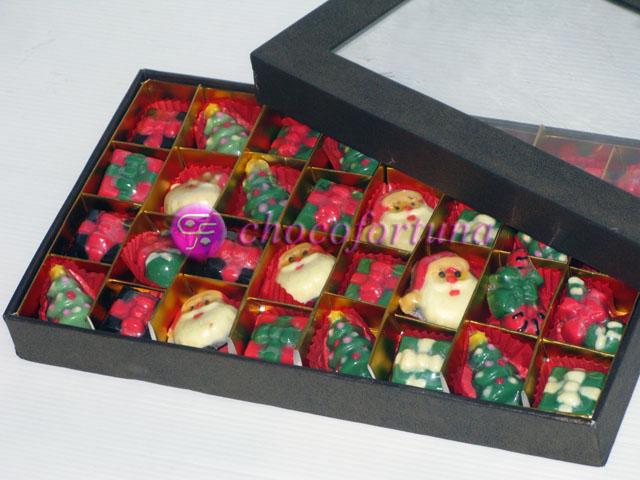 Coklat Natal Sekat 24