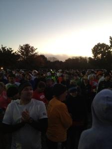 Freedomʻs Run Marathon Starting Line
