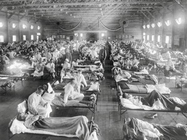 Испанка - болезнь 20 века