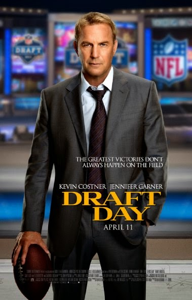 Poster Of English Movie Draft Day (2014) Free Download Full New Hollywood Movie Watch Online At Alldownloads4u.Com