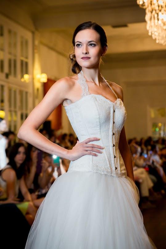 vestido de novia con corset 2015 zaragoza