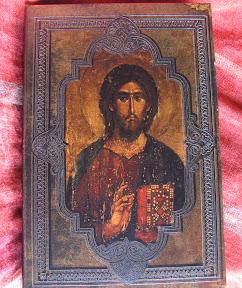 Portada de Cristo con libro