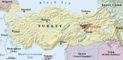 kürt isyanları haritası